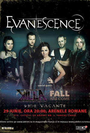 Evanescence la Bucuresti: Program si Reguli de Acces