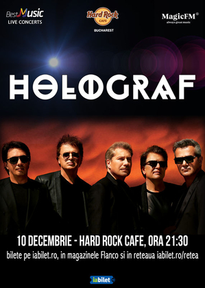Holograf - special exclusive show - Hard Rock Cafe