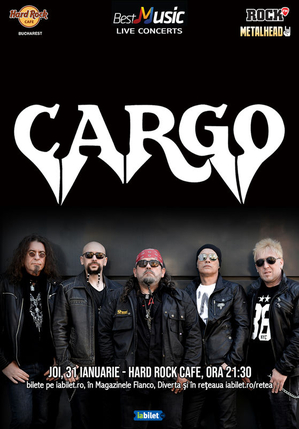 Concert Cargo in Hard Rock Cafe