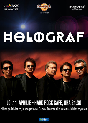 Concert Holograf in Hard Rock Cafe