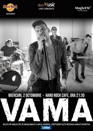 Concert Vama la Hard Rock Cafe