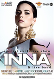 INNA - special exclusive show in Hard Rock Cafe