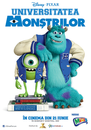 Monsters Inc., la cinema din 21 iunie