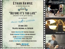 Ethan Hawke. Before Midnight. Before it's too late