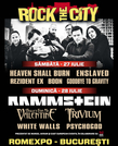 Line-up complet Rock the City 2013