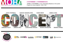VERNISAJ: Expoziția CONCEPT – program MORA Emerging