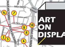 ART ON DISPLAY – expoziții și instalații în vitrinele din București