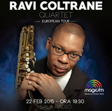 RAVI COLTRANE aduce la Sala Radio albumul Spirit Fiction
